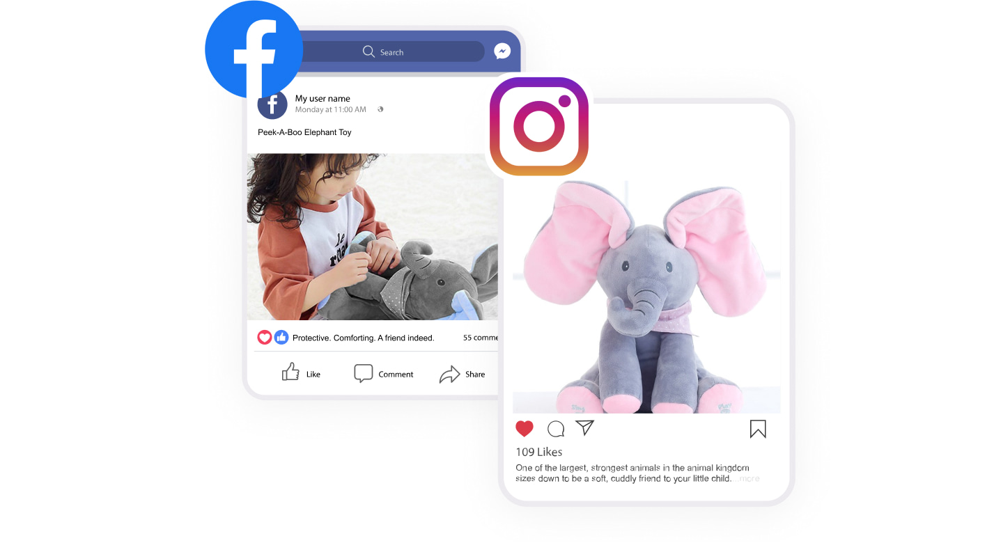 Ban-free social media experience as one of the fast shipping benefits you can get with Sellvia
