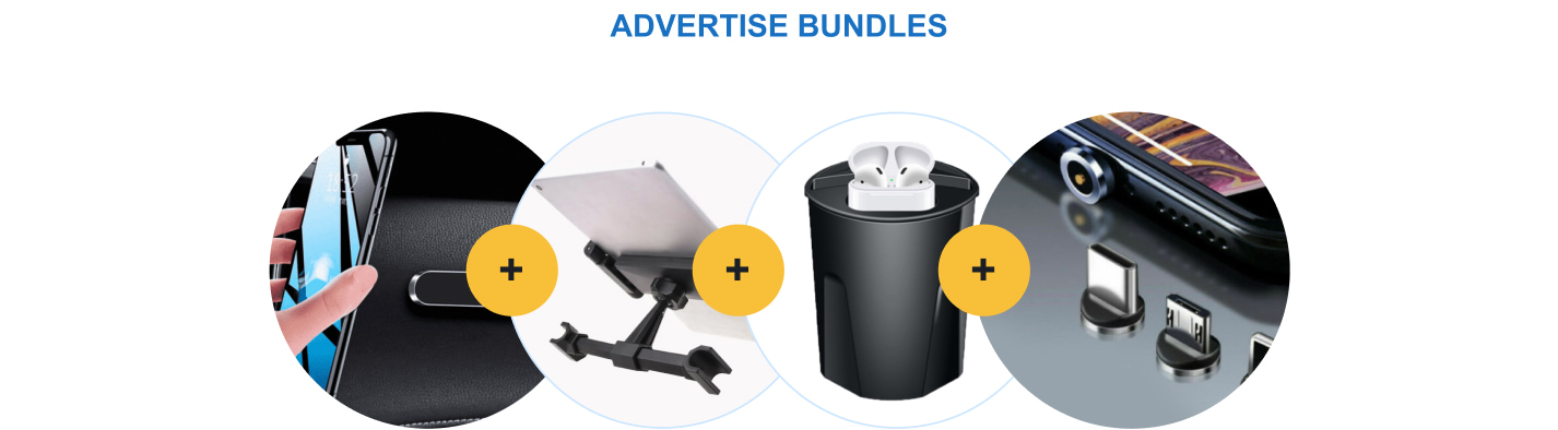 After joining Sellvia, your dropshipping store will benefit from various product bundles.