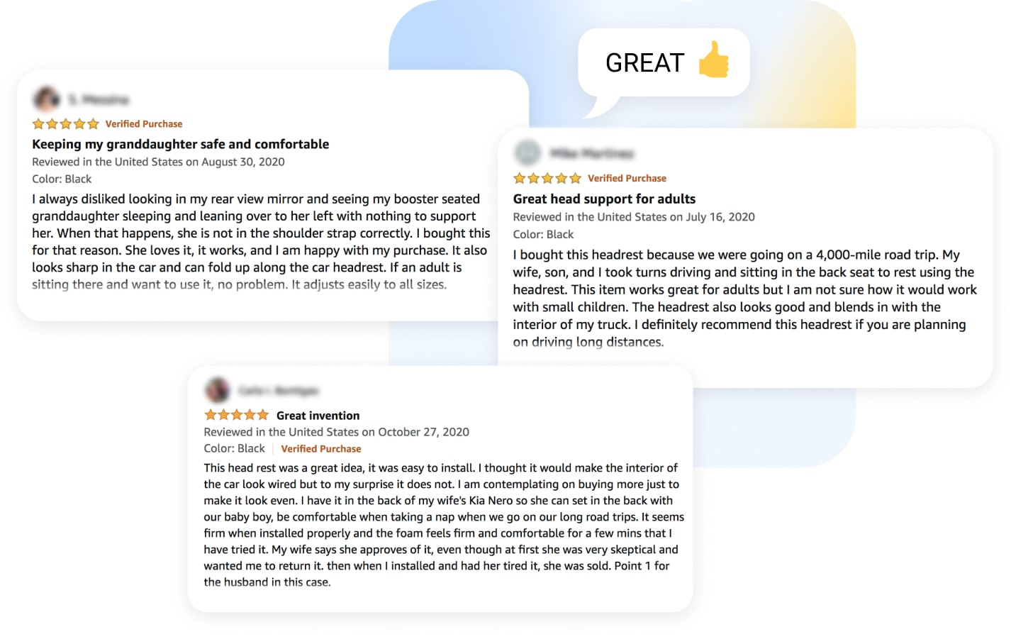 Analyzing real customer reviews on popular platform is a good dropshipping product research method.