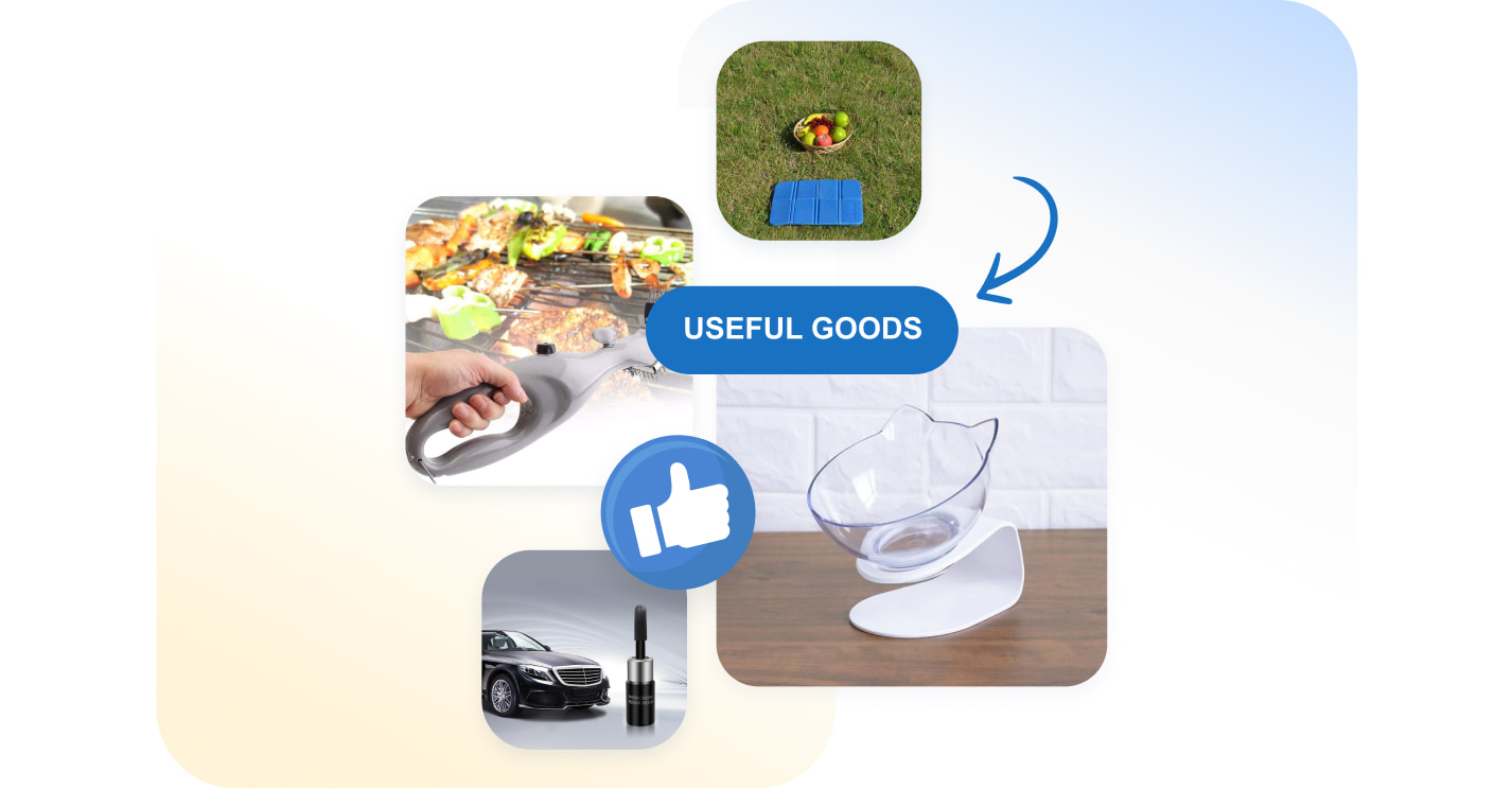 Examples of useful dropshipping goods.