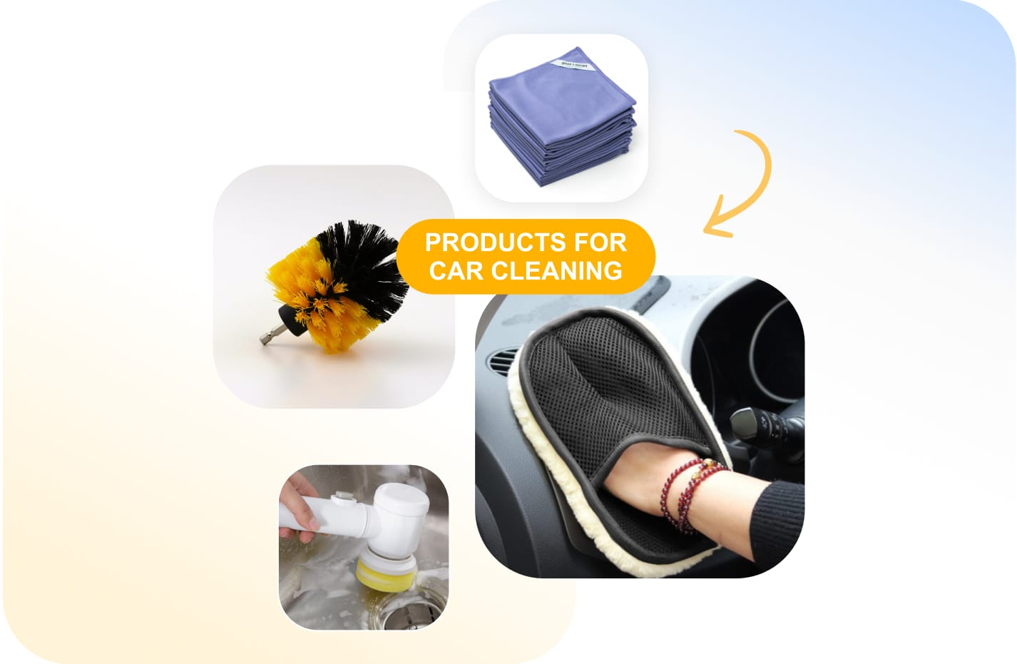 Car accessories business: Products for car cleaning that you can resell from Sellvia