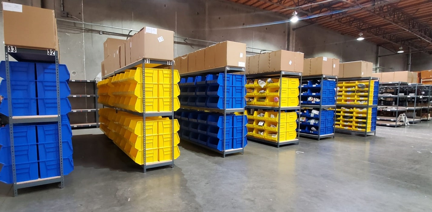 a picture showing a US-based warehouse for your ecommerce business